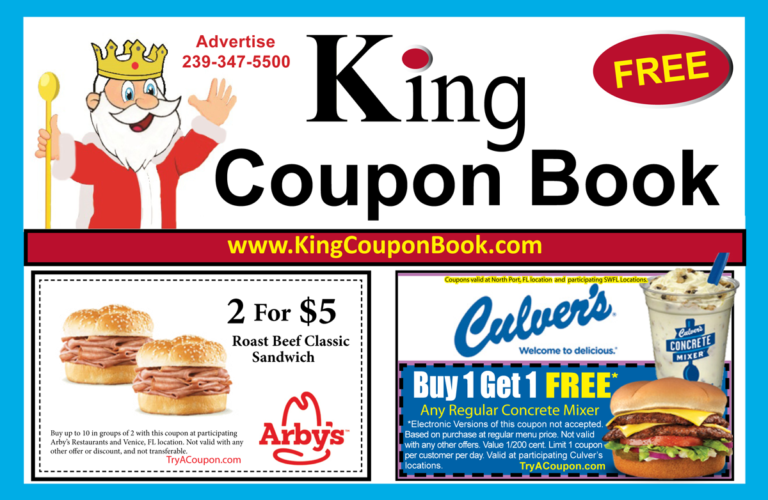 King Coupon Book